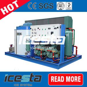 20 toneladas/día Flake La Máquina de hielo para el procesamiento de alimentos