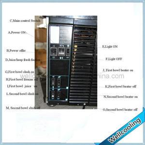 R404A lodo carbonatadas Granizado de la máquina La máquina refrigeradora