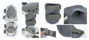 7 цветов тактических регулируемый защитный Airsoft колено + колени тормозных колодок