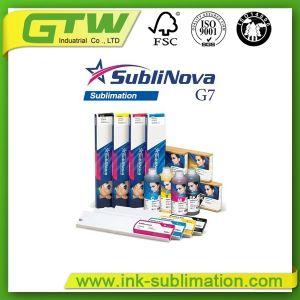 Inchiostro originale di sublimazione del G7 di Inktec Sublinova per stampaggio di tessuti