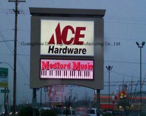 P16mm Affichage de panneaux de publicité pour l'extérieur annonces dynamiques avec la CE, FCC, RoHS