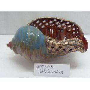 Loiça Conch Shell para jardim decoração (KNS-02)
