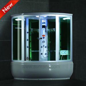 Heißer gleitendes Glas-Tür-Dampf-Dusche-Raum des Verkaufs-2015 (SR608)