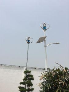 Luz de rua híbrida zero do painel solar de gerador de turbina do vento da poluição