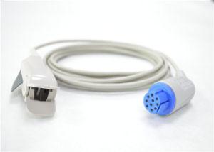 GEのDatexのOhmeda Oxy-F4-N大人指クリップSpO2センサー