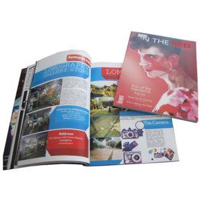 Catálogo catálogo colorido com impressão a cores, catálogo da empresa