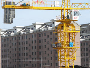 Fábrica de China Ce SGS grúa torre Jib Longitud 50 m.