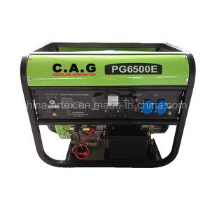 5kw/5kVA/5000w gasolina portátil resfriado a ar/Gerador a gasolina
