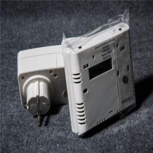 Ue digital sem fios do termostato para Infravermelho Distante de cristais de carbono