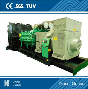 Googol Large Diesel Engine 2mw Generator