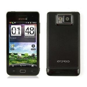 Cellulare Five-Point di GPS TV WiFi della macchina fotografica di tocco 5.0MP del Android 2.3 di I9100 Mtk6573 WCDMA+GSM