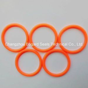 Хорошее качество оранжевый силиконового уплотнительного кольца