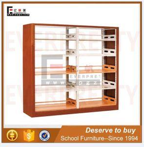 Revista de mobiliário da biblioteca da Escola de Rack estantes estante de madeira e metal (SF-10B)