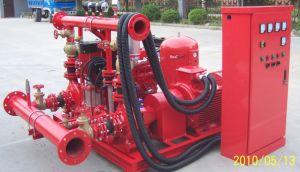 Gpm Horisontal 750UL de Motor Diesel Caja de división de la bomba de fuego la norma NFPA20