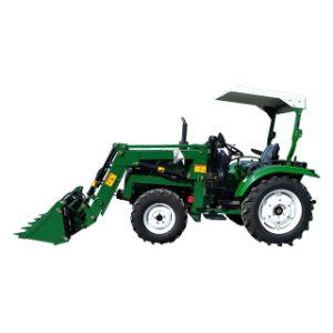 35 CV Tractor agrícola 4WD con cargador frontal