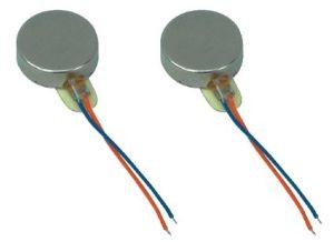 8X3.4mm Bewegungsflache Münzen-Schwingung-Minizerhacker des Handy-3V vibrierender