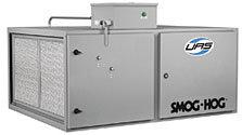 При температуре окружающей среды Smog-Hog и источник захвата (SHN)