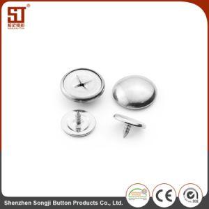 ズボンのための容易な個々の円形の金属の熊手のスナップボタン