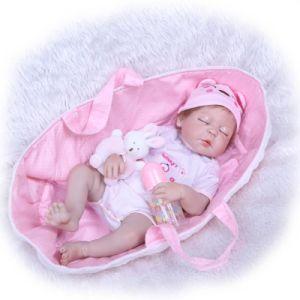 Nuevo juguete de niños Baby Doll de silicona hechos a mano se pueden tomar baño con los niños