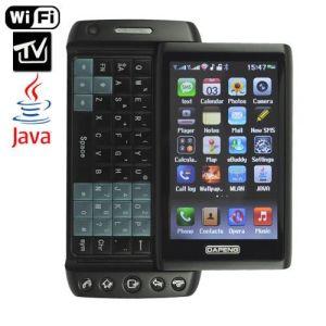 Telefono mobile T5000 di WiFi delle carte doppie