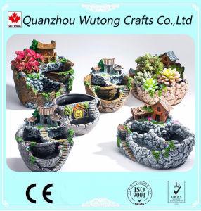 Pot van de Bloem van de Decoratie van de Tuin van de Gift van de herinnering de Miniatuur