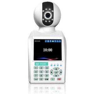 H., 264 IR-Schnitt Video-Telefon IP-Netz 0.3 Megapixel PTZ Kamera