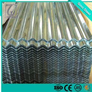 Lamiera di acciaio ondulata rivestita galvanizzata 0.18mm dello zinco del bollo dell'azienda