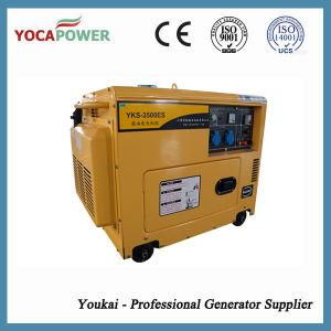 3kVA 작은 디젤 엔진 전기 방음 발전기 세트