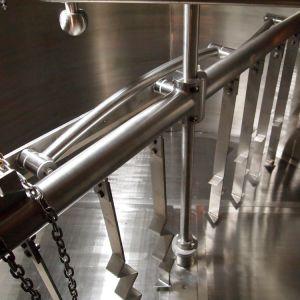 7 برميل [تثرنكي] دقيقة تجاريّة يضمّ جعة مصنع جعة تجهيز
