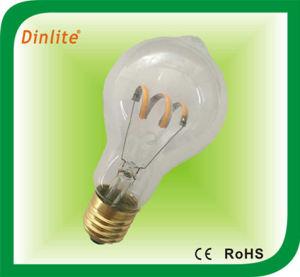 Um parafuso19 lâmpada LED clara de filamento