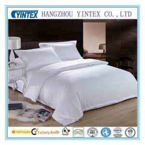Listras brancas roupas de cama de hospital&Hotel