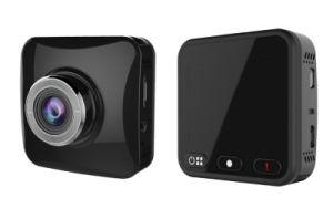 2  geven Ios van de Nok van het Streepje HD wi-FI van de Duim 1080P Volledige & Androïde APP, Levende Voorproef, het Draadloze Registreertoestel van het Voertuig DVR van de Auto wi-FI uit