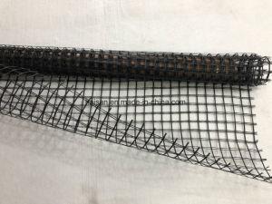 Het SBR Met een laag bedekte Huisdier Geogrid van Polyster Geogrid