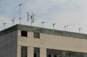 Piccola turbina di vento orizzontale domestica di uso indicatori luminosi di via/di uso Hawt 200W