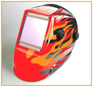 4台のセンサーの大きい眺めの自動暗くなる溶接のヘルメット(WH9801324)