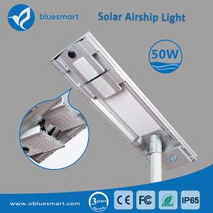 indicatore luminoso di via solare di 50W LED per il progetto di illuminazione della strada