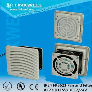 Filtros de ventilador de exaustão do painel eléctrico