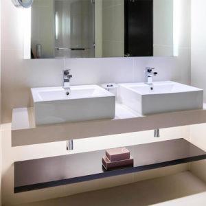 Hotel de primera piedra de cuarzo de diseño cuarto de baño tocador ...