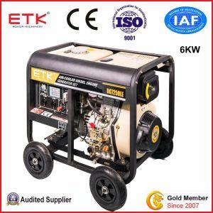 Freddo facile che inizia il gruppo elettrogeno diesel (6KW)