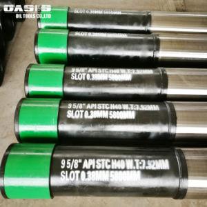 Doppelte Schicht-Filterröhre-Beleg auf Keil-Draht-Bildschirm mit perforierten Rohren