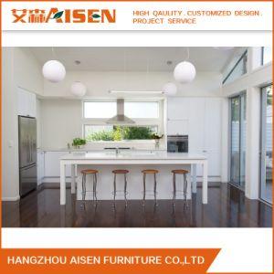 De in het groot Bouw Decoratieve Keukenkast van het Ontwerp van het Meubilair van het Huis Moderne
