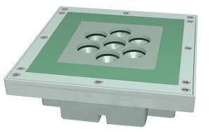 IP67は公園または正方形のためのLEDの地下ライトを防水する