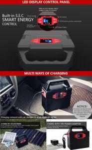 Power Pack para viajar con Panel solar plegable 20W.