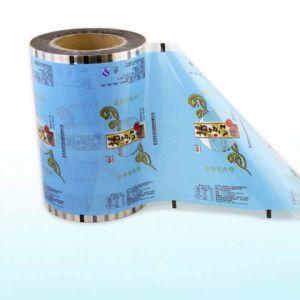 Bolsa de plástico semitransparente laminado las películas de embalaje de alimentos