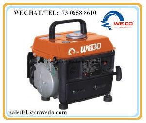 Wd950 Lado 2 Tempos Iniciar Home Use 650W Geradores de gasolina portátil com marcação CE