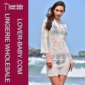 Paisley Kimono Swimsuit Beach Fashion Cover up (L38365)