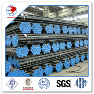 ASTM A53 A106 API 5L 급료 B 까만 탄소 강철 이음새가 없는 관