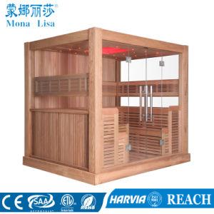 Многопользовательские типа роскошных 8-10 человек деревянные Сауна (M-6046)