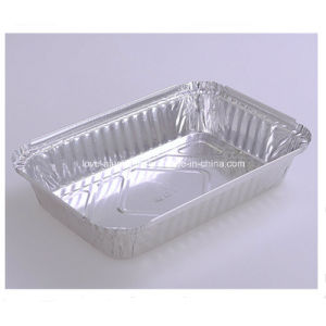 L'environnement Poulet rôti jetables les plaques en aluminium