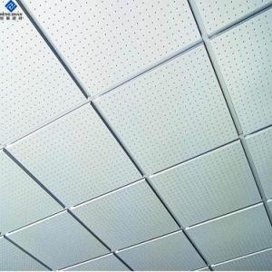Aluminio pintado en color metal suspendido falso techo interior expuesto decorativos